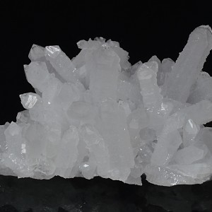 Quartz with growth phantoms