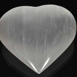 Selenite puffed heart