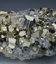 Pyrite, Quartz, Chalcopyrite