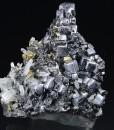 Skeletal Galena, Sphalerite, Chalcopyrite, Quartz