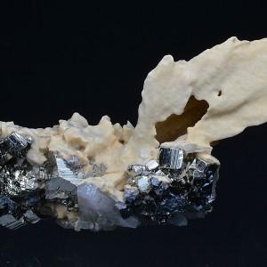 Pseudomorphous after Calcite, Pyrite, Quartz