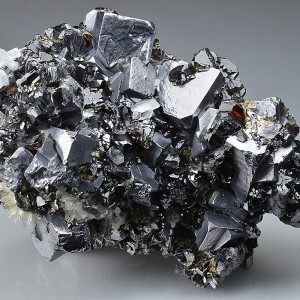 Truncated Galena, gem Sphalerite var.Cleiophane, Quartz