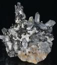 Quartz, Sphalerite, Galena, Chalcopyrite, Calcite