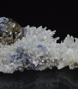 Cleiophane and Galena on Quartz