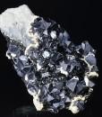 Truncated Galena, Sphalerite, Calcite