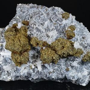 Chalcopyrite, Galena, Quartz
