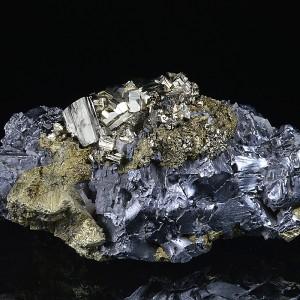 Chalcopyrite, Pyrite, Galena, Quartz