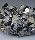 Pyrite on Sphalerite