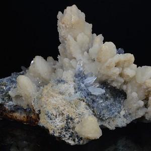 Calcite, Quartz, Pyrite