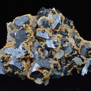 Galena, Sphalerite, Dolomite, Calcite