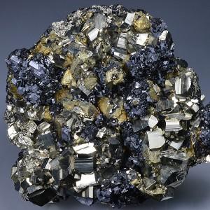 Pyrite, Chalcopyrite, Galena, Sphalerite