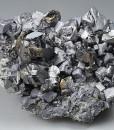 gem Sphalerite var.Cleiophane, Galena, Pyrite, Quartz