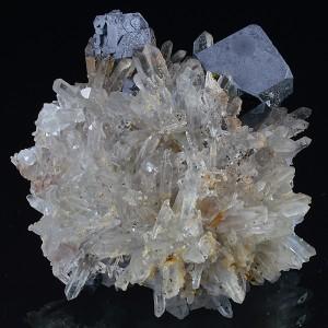 Galena, Quartz, Cleiophane, Calcite