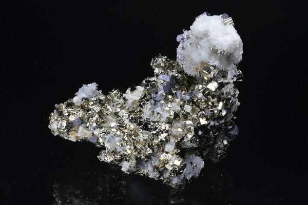 Pyrite, Quartz, Galena, Calcite