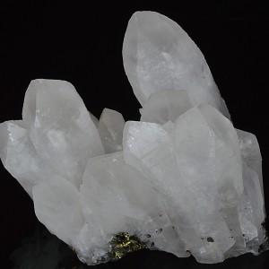 Quartz, Chalcopyrite, Calcite
