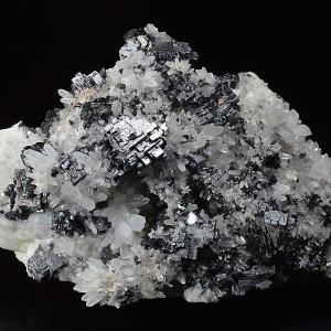 Skeletal Galena, Quartz, Sphalerite
