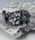 Sphalerite on host rock