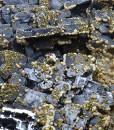 Skeletal Galena, Chalcopyrite, Quartz, Dolomite