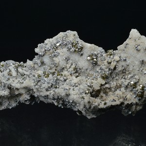Cleiophane, Galena on Quartz