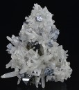 Bi-terminated Quartz, Galena, Sphalerite, Chalcopyryrite