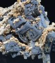 Skeletal Galena, Calcite, Quartz
