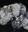 Sphalerite, Galena, Quartz, Chalcopyrite