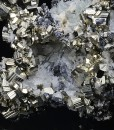 Pyrite, Quartz, Sphalerite, Galena, Calcite