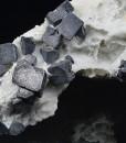 Truncated Galena, Cleiophane, Calcite, Quartz