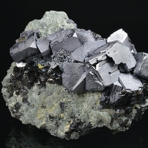 Twinned and truncated Galena, Sphalerite
