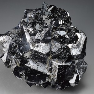 Twinned and truncated Galena, Sphalerite, Quartz