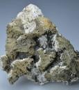 Iridescent Chalcopyrite, Quartz