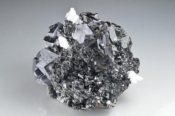 Sphalerite, Galena, Calcite