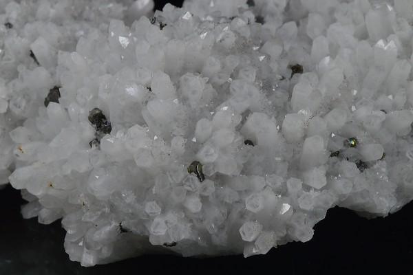 Quartz, Cleiophane, Galena, Chalcopyrite