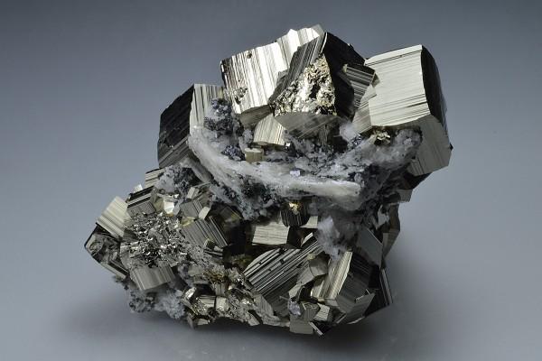 Pyrite, Calcite, Sphalerite