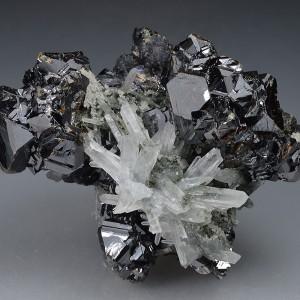 Sphalerite, Quartz, Chlorite