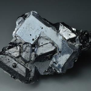 Twinned Galena, Quartz, Sphalerite