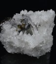Cleiophane on bi-terminated Quartz