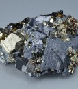 Pyrite, Cleiophane on Galena