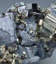 Pyrite, Cleiophane on Galena