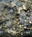 Chalcopyrite, Pyrite, Sphalerite