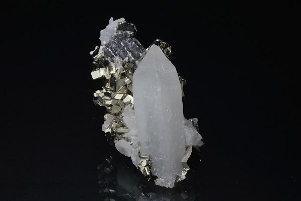 Quartz, Pyrite, Galena
