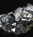 Twinned Galena, Sphalerite, Quartz