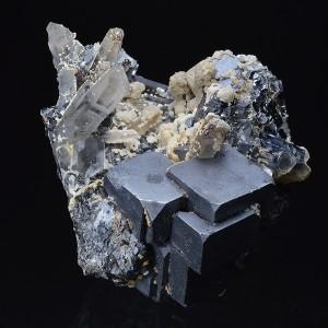 Galena, Quartz, Sphalerite, Calcite