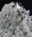 Quartz, Sphalerite, Chalcopyrite