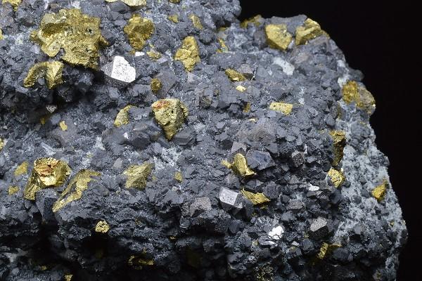 Sphalerite, Chalcopyrite, Quartz
