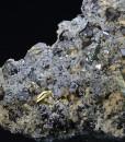 Calcite, Quartz, Chalcopyrite, Sphalerite