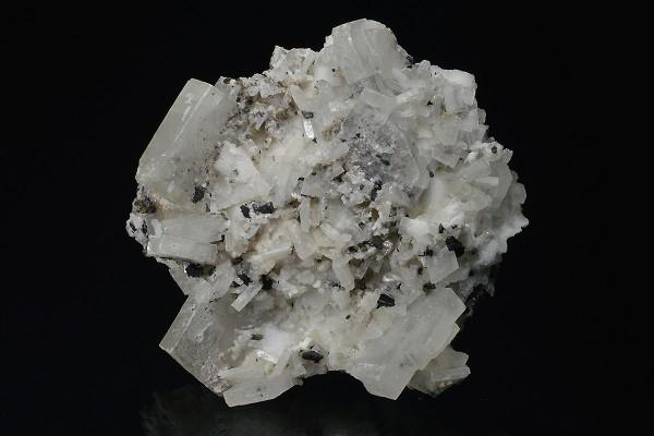 Baryte, Sphalerite, Calcite