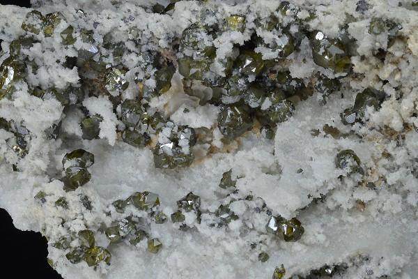 Cleiophane on Quartz