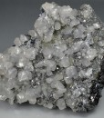 Truncated Galena, Cleiophane, Calcite