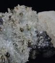 Quartz, Calcite, Chalcopyrite, Sphalerite, Galena